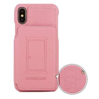 ドラえもん iPhoneXs/X対応カードフラップケース どこでもドア DR-55B