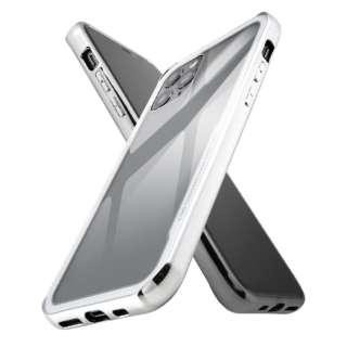 iPhone 11 Pro ハイブリッドガラスケース メタリック/シルバー IS-P23CC13/SV シルバー