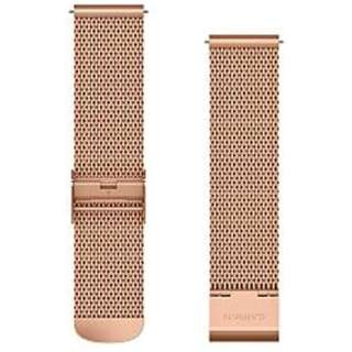 Quick Release バンド 20mm 18K Rose Gold PVD Milanese 010-12924-64