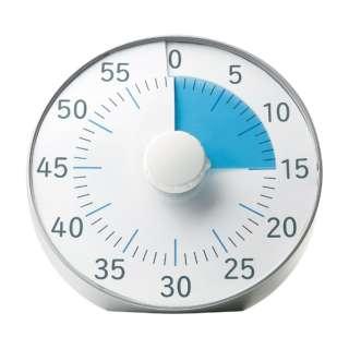 トキサポ時っ感タイマー19cm色で時間の経過を実感 LV-3078-SV