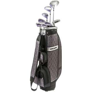 レディース ゴルフクラブ 8本セット efil-7 《キャディバッグ付/W#1、FW#5、UT#5、Ir#7、Ir#9、PW、SW、PT/efil-7オリジナルカーボンシャフト》L
