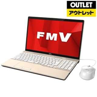 【アウトレット品】 15.6型ノートPC [Office付・Core i3・HDD 1TB・メモリ 4GB] LIFEBOOK AH45/D1  FMVA45D1G シャンパンゴールド 【生産完了品】