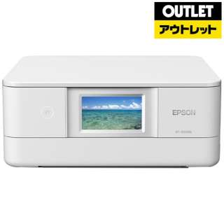 【アウトレット品】 インクジェット複合機 [カード/名刺~A4] Colorio(カラリオ)  EP-881AW ホワイト 【生産完了品】