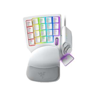 RZ07-03110200-R3M1 ゲーミングキーボード Tartarus Pro Mercuryホワイト [USB /有線]