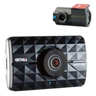 AMEX-A05W ドライブレコーダー amex [一体型 /Full HD(200万画素) /前後カメラ対応 /駐車監視機能付き]