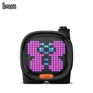 90100058117 ブルートゥーススピーカー Divoom - TIMOO ブラック [Bluetooth対応]
