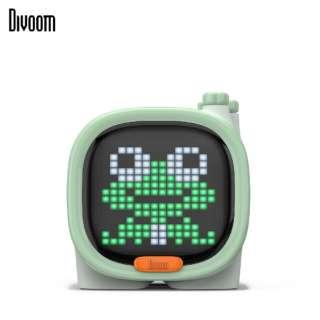 90100058120 ブルートゥーススピーカー Divoom - TIMOO グリーン [Bluetooth対応]