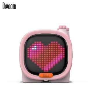 90100058119 ブルートゥーススピーカー Divoom - TIMOO ピンク [Bluetooth対応]