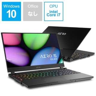 AERO 15 OLED SA-7JP5130SP ゲーミングノートパソコン [15.6型 /intel Core i7 /SSD:512GB /メモリ:16GB /2019年11月モデル]