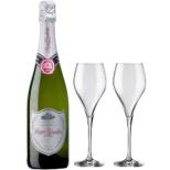 [ロジャーグラート特製グラス付] ロジャーグラート カバ プラチナ ドゥミセック レゼルバ 2016 750ml【スパークリングワイン】