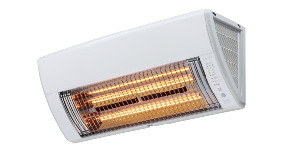マックス 壁掛型遠赤外線暖房機 BRS-K100RWL