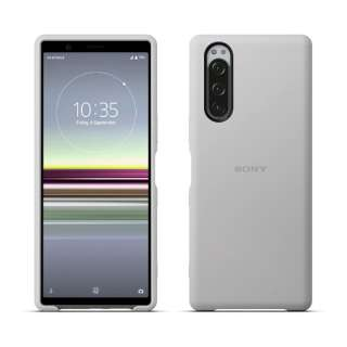 SONY純正 Xperia 5 Style Cover SCBJ10JP/H グレー
