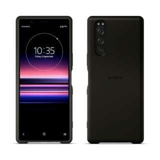 SONY純正 Xperia 5 Style Cover SCBJ10JP/B ブラック