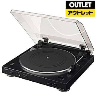 【アウトレット品】 レコードプレーヤー DP-200USB-K ブラック 【外装不良品】