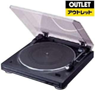 【アウトレット品】 レコードプレーヤー  DP-29F-K ブラック 【外装不良品】