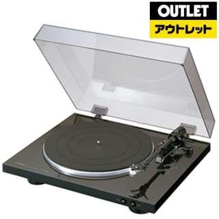 【アウトレット品】 レコードプレーヤー  DP-300F ブラック 【外装不良品】