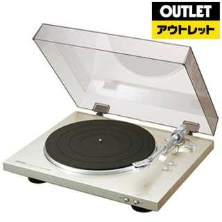 【アウトレット品】 レコードプレーヤー  DP-300F プレミアムシルバー 【外装不良品】
