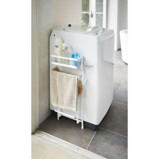 プレート 洗濯機横マグネット収納ラック 3309 ホワイト