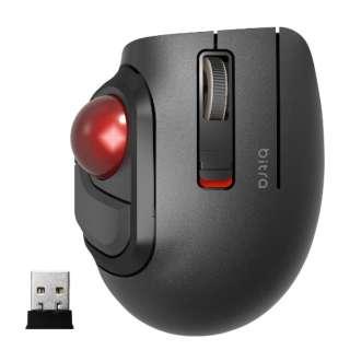M-MT1DRSBK マウス トラックボール ブラック [光学式 /5ボタン /USB /無線(ワイヤレス)]