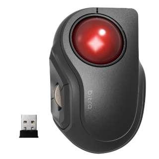 M-MT2DRSBK マウス トラックボール ブラック [光学式 /5ボタン /USB /無線(ワイヤレス)]