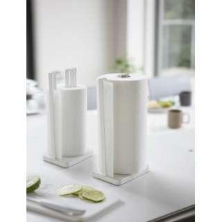 プレート 片手で切れるキッチンペーパーホルダー(Kitchen Paper Holder) 3260 ホワイト