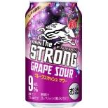 キリン・ザ・ストロング グレープスカシュサワー (350ml/24本)【缶チューハイ】