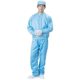 ブラストン 防塵ジャケット(立衿)-青-Lサイズ BSC-42001-B-L