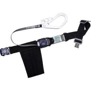 ツヨロン リトラ安全帯 黒 Mサイズ TB-RL-OT593-BLK-M-BP