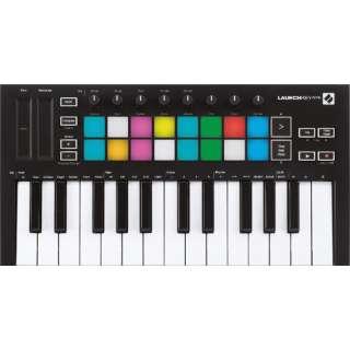 MIDIキーボードコントローラー LaunchKey mini MK3 ブラック