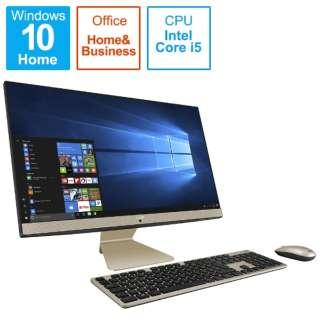 V241FAK-I5HB2019 デスクトップパソコン Vivo AiO ブラック [23.8型 /SSD:512GB /メモリ:8GB /2019年11月モデル]