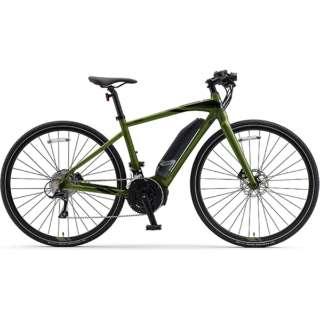 【eバイク】 700×35C型 電動アシストロードバイク YPJ-EC(Deep Forest/外装18段変速)【Sサイズ/2020年モデル】 【組立商品につき返品不可】