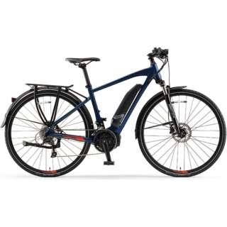【eバイク】 700×35C型 電動アシストロードバイク YPJ-TC(Mat Dark Blue/外装18段変速)【Lサイズ/2020年モデル】 【組立商品につき返品不可】