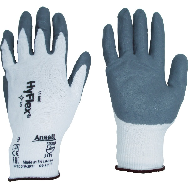アンセル 組立・作業用手袋 ハイフレックス 11 800 Sサイズ 11-800-7