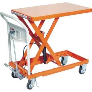 TRUSCO ハンドリフタ 250kg 500X800 オレンジ HLFA-S250