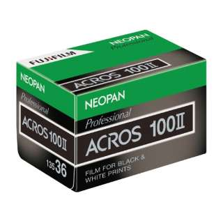 Neo-bread 100 ACROS II (across 2) 35mm size 135-36 pieces knob