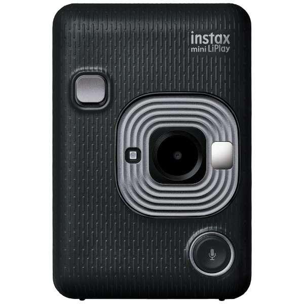 【数量限定】ハイブリッドインスタントカメラ 『チェキ』 instax mini LiPlay ダークグレイ