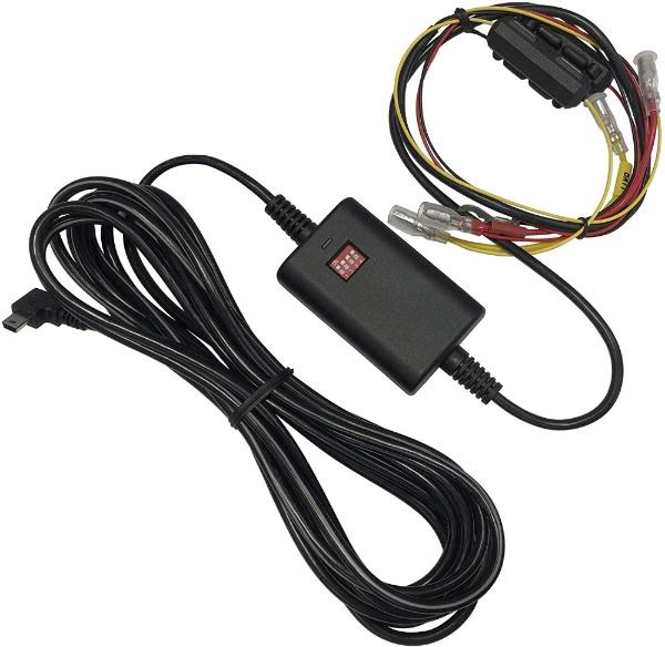 ドライブレコーダー用車載電源ケーブル/バッテリー過放電防止機能 / オフタイマー機能 CA-DR350