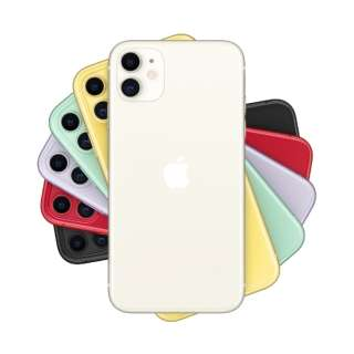 【SIMフリー】Apple iPhone 11 A13 Bionic 6.1型 ストレージ: 128GB デュアルSIM(nano-SIMとeSIM) MWM22J/A ホワイト