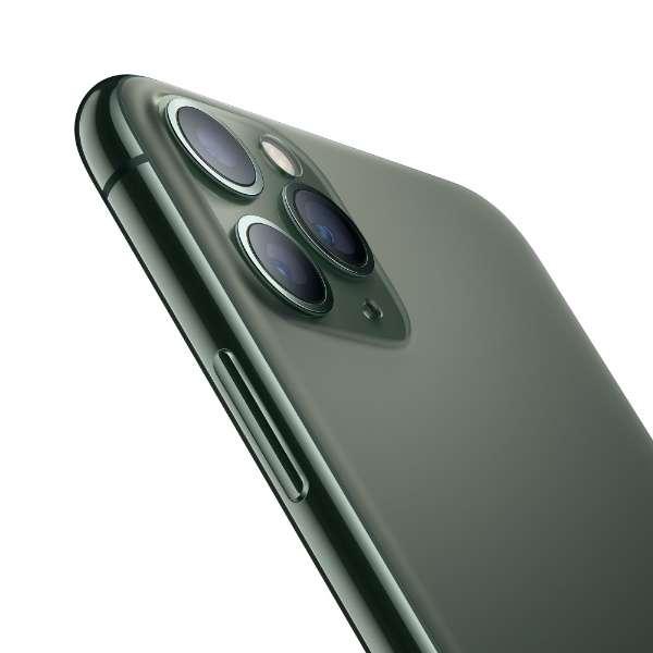 【SIMフリー】Apple iPhone 11 Pro A13 Bionic 5.8型 ストレージ: 64GB デュアルSIM(nano-SIMとeSIM) MWC62J/A ミッドナイドグリーン