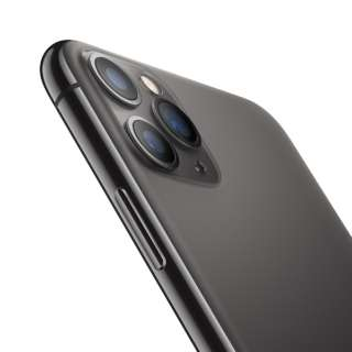 【SIMフリー】Apple iPhone 11 Pro Max A13 Bionic 6.5型 ストレージ: 256GB デュアルSIM(nano-SIMとeSIM) MWHJ2J/A スペースグレイ