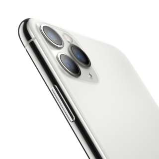 【SIMフリー】Apple iPhone 11 Pro Max A13 Bionic 6.5型 ストレージ: 512GB デュアルSIM(nano-SIMとeSIM) MWHP2J/A シルバー