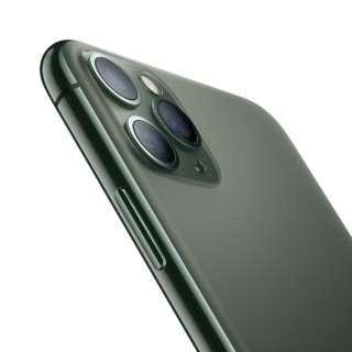 【SIMフリー】Apple iPhone 11 Pro Max A13 Bionic 6.5型 ストレージ: 512GB デュアルSIM(nano-SIMとeSIM) MWHR2J/A ミッドナイドグリーン