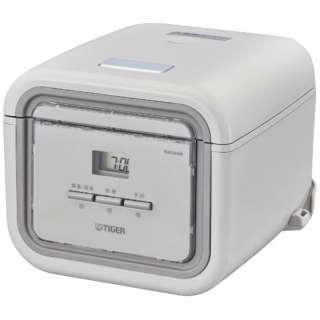 JAJ-G550-HA 炊飯器 炊きたて tacook(タクック) アッシュグレー [3合 /マイコン]