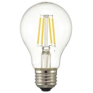 LED電球 フィラメント E26 40形相当 調光器対応 LDA4L/DC6 電球色