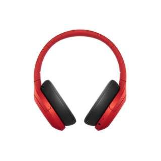 ≪海外仕様≫ツーリストモデル ブルートゥースヘッドホン WH-H910N RME レッド [リモコン・マイク対応 /Bluetooth /ハイレゾ対応 /ノイズキャンセリング対応]