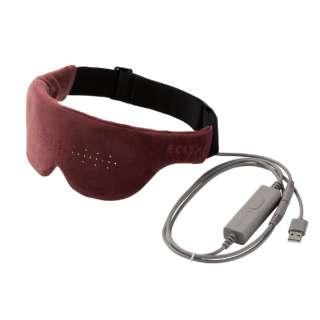 エクリアwarm USBホットアイマスク HCW-E01BR モーヴブラウン