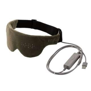 エクリアwarm USBホットアイマスク HCW-E01GN オリーブカーキ