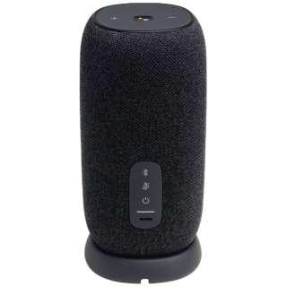 AIスピーカー JBLLINKPORBLKJN ブラック [Bluetooth対応 /防水]