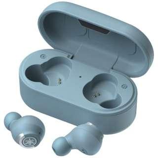 フルワイヤレスイヤホン スモーキーブルー TW-E5AA [リモコン・マイク対応 /ワイヤレス(左右分離) /Bluetooth]