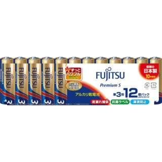 アルカリ単3(12個パック) PremiumS  LR6FP(12S)